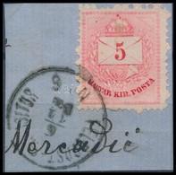 1878 Bosznia Előfutár 5kr 'FELDPOST EXPOSITUR No 6' (50.000) - Timbres