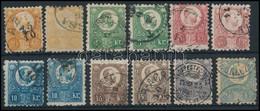 O 1871 Réznyomat Sor Színváltozatokkal (~40.000) - Timbres