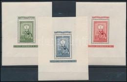 ** 1951 80 éves A Magyar Bélyeg Jó Minőségű Blokksor (45.000) - Timbres
