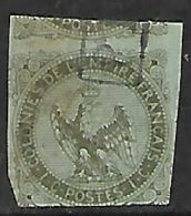 France Colonies, 1862, 1 Cent. Used - Eagle And Crown
