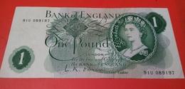 U.K. ONE POUND - NON DATE (1966-1977) - 1952-… : Elizabeth II