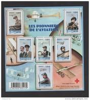 FRANCE / 2010 / Y&T N° 4504/4509 ** En Bloc Ou F4504 ** : BF Pionniers De L'aviation - Gomme D'origine Intacte - Neufs