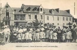 CPA 44 Loire Atlantique Inférieure Pornichet Maison Du Sacré Coeur Pension Pour Jeunes Filles - Pornichet