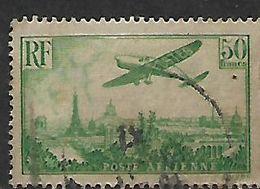 France 1936, Air, 50f. Green, Used - Oblitérés