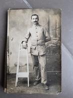 Carte Postale Photo Militaire Guerre 1914-1918 - Characters