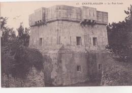 CPA -  23. CHATELAILLON Le Fort Louis - Châtelaillon-Plage
