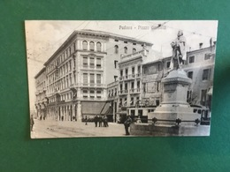 Cartoline Padova - Piazza Garibaldi - 1905 - Padova (Padua)
