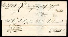 Italy - Prephilately. 1832. Lombardo - Venetto. Palma - Udine. EL. VF. - Italy