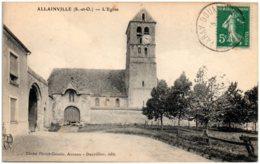 78 ALLAINVILLE - L'église - France