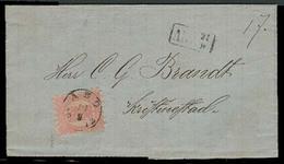 FINLAND. 1872. Abo - Kristinestad. EL / 40k / Cds. Fine. - Finland