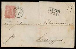 FINLAND. 1867. Knopio - Helsingfors. EL / 40p / Cds. Nice Item. - Unclassified