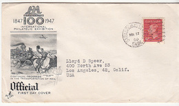 International Philatelic Exhibition, Canada Cover   (A-1700-special-2) - Briefmarkenausstellungen