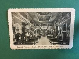 Cartoline Roncade - Treviso - Interno Chiesa Arcipretale Di Tutti I Santi - 1952 - Treviso