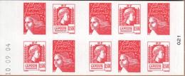 FRANCE CARNET AUTOADHESIFS 1512 LES 60 ANS DE LA MARIANNE D'ALGER. VOIR SCAN RECTO / VERSO - Usados Corriente