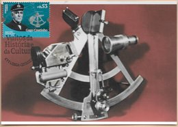 CARTE MAXIMUM - MAXICARD - MAXIMUM KARTE - MAXIMUM CARD - PORTUGAL - FIGURES DE L'HISTOIRE ET LA CULTURE - GAGO COUTINHO - Astronomie