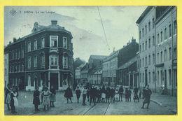 * Dison (Liège - Luik - La Wallonie) * (SBP, Nr 3) La Rue Longue, Belle Animation, Animée, Enfants, Groupe, Tramway, TOP - Dison