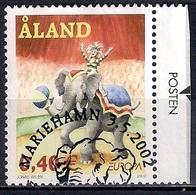 Aland 2002 - EUROPA Stamps - The Circus - Aland