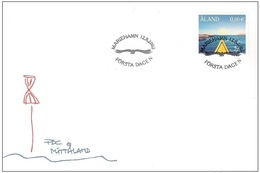 Aland 2002 - FDC Aaland Through The Eyes Of Lill Lindfors - Aland
