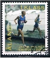 Aland 2002 - Used - Janne Holmén - Winner In The Men's Marathon In The European Athletics Championships - Aland