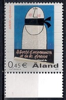 Aland 2003 - EUROPA Stamps - Poster Art  MINT - Aland