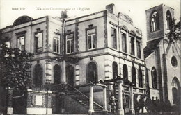 BATTICE (Herve) - Maison Communale Et L'Eglise - N'a Pas Circulé - Herve