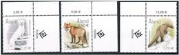 Aland 2004 - Animal Predators Mint Complete Set - Aland