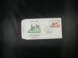 """BELG.1978 1888 FDC (Peruwelz)  : """"Norbertijnabdij Grimbergen 1128-1978 , 850 Ans Communauté Norbertine Grimbergen """" - FDC"""