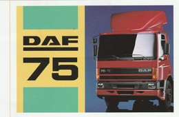 DAF 75 Sticker, Autocollant - Camions
