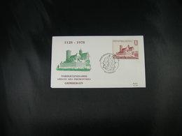 """BELG.1978 1888 FDC (Grimbergen)  : """"Norbertijnabdij Grimbergen 1128-1978 , 850 Ans Communauté Norbertine Grimbergen """" - FDC"""