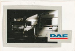 DAF  Sticker, Autocollant - Camions