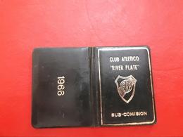Argentina Futbol Carnet De Socio Y Miembro De Comision Directiva Del Club River Plate - Documentos Históricos