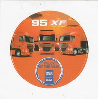 DAF 95 XF Sticker, Autocollant TRUCK OFTHE YEAR 1998 - Camions