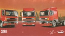 DAF 65CF 75CF 85CF Sticker, Autocollant - Camions