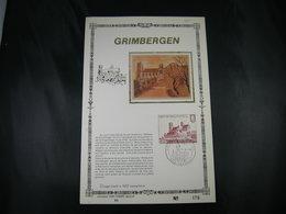 "BELG.1978 1888 FDCsoie Carte D'or N°85/400 Ex : "" 850 Ans Communauté Norbertine Grimbergen "" - FDC"