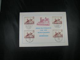 """BELG.1978 1888 FDC Fila Card : """"Norbertijnabdij Grimbergen 1128-1978 , 850 Ans Communauté Norbertine Grimbergen """" - FDC"""