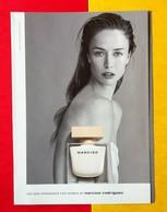 Narciso Rodriguez - Publicité Parfum - Narciso (triptique Cartonné) - Cartes Parfumées
