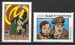France 2004 N° 3669/3670 Neufs BD Blake Et Mortimer à La Faciale - France