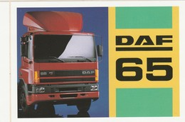 DAF 65 Sticker, Autocollant - Camions