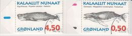 Greenland 1997 Whales Booklet Used (42002) - Postzegelboekjes