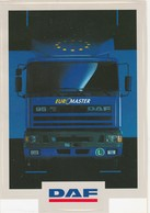 DAF 95 EURO MASTER Sticker, Autocollant - Camions