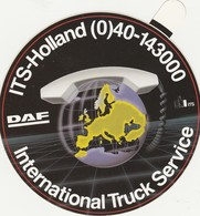DAF ITS Holland Sticker, Autocollant - Camions