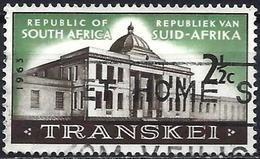 South Africa 1963 - Mi 318 - YT 277 ( Parliament Of Transkei ) - Oblitérés