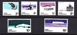 Ross Dependancy 1972 Stamp Set Unmounted Mint. - Dépendance De Ross (Nouvelle Zélande)