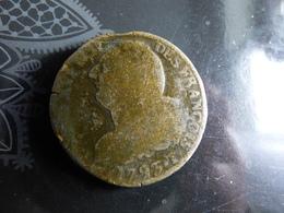 2 SOLS 1793T RARE - 1789-1795 Periode Franse Revolutie