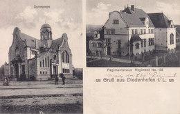 Thionville Diedenhofen Regiment Et Synagoge - Thionville