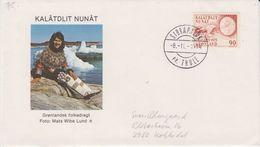 Greenland 1978 Cover Ca Siorapaluk / Thule 8.11.1978 (42008) - Brieven En Documenten