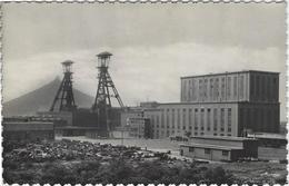 Houthalen :  Centraal Bovenzicht Kolenmijnen Van Houthalen. (uit Plakboek)  FOTOKAART! - Houthalen-Helchteren