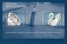 2004 AUTRICHE  N**   MNH   KRISTALLWELTEN - Blocs & Feuillets