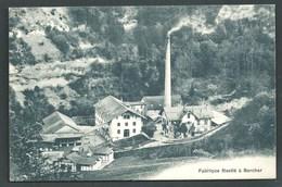 SUISSE  BERCHER ( VAUD )   FABRIQUE NESTLE....CHEMINEE.....C3100 - VD Vaud