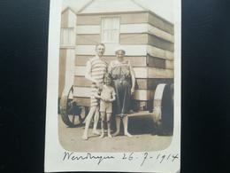 WENDUYNE OSTENDE FLANDRE  LITTORAL BELGIQUE PLAGE MER LOT 33 PHOTOS ORIGINALES ET 2 CARTES - PHOTOS  ANNÉES 1914 À 1960 - Personnes Anonymes